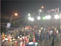 कोलकाता पुल हादसे में मरने वालों की संख्या पहुंची दो, एक अब भी है लापता