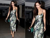Pics: मलाइका अरोड़ा अर्जुन कपूर के बिना ही मुंबई में पार्टी कर हॉट लुक में हुईं स्पॉट