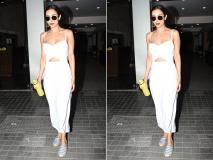 मलाइका अरोड़ा का व्हाइट कलर की हॉट ड्रेस में दिखा जलवा, इस अदाओं के साथ दिए पोज