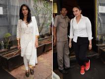 Photos: मल्लिका शेरावत और हुमा कुरैशी मुंबई में हुई स्पॉट