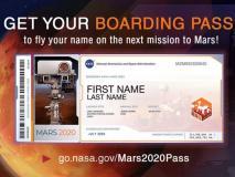 मंगल ग्रह पर नासा भेजेगा आपका नाम, मिलेगा यादगार बोर्डिंग पास