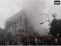 नोएडाः मेट्रो हॉस्पिटल में लगी भीषण आग, मरीजों को निकाला जा रहा बाहर