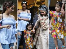 Pics: मीरा राजपूत मम्मी और बेटी मीशा संग लंच के बाद आईं नजर