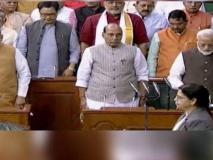 सरकार में नंबर दो राजनाथ सिंह, प्रधानमंत्री मोदी के बगल में बैठे, सुषमा स्वराज की सीट परगृह मंत्री अमित शाह