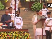Modi Cabinet 2019: राष्ट्रगान के साथ शपथग्रहण समारोह खत्म, पीएम मोदी और 57 मंत्रियों ने ली मंत्री पद की शपथ