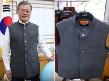 Photos: दक्षिण कोरिया के राष्ट्रपति को भा गया मोदी जैकेट, भारतीय प्रधानमंत्री ने की गिफ्ट
