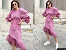 मौनी रॉय का पिंक ड्रेस में इंस्टा पर दिखा दिलकश अंदाज, Pics वायरल