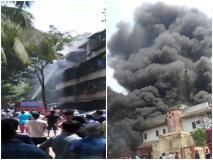 मुंबई में आग लगने से 15 वर्षीय किशोरी की मौत, जौनपुर में BSNL का टावर जला