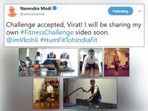 #FitnessChallenge: विराट, अनुष्का, अमिताभ और पीएम मोदी ने एक्सेप्ट किया चैलेंज, देखें किसने कैसे दिखाई फिटनेस