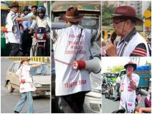 #KuchhPositiveKarteHain: 20 साल ट्रैफिक बाबा बन किया जागरूक, मरने के बाद बॉडी पार्ट कर गए थे दान