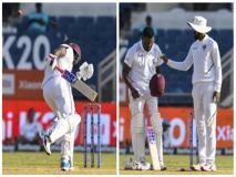 IND vs WI, 2nd Test: रिटायर्ड हर्ट हुए डैरेन ब्रावो, हेलमेट से टकराई थी जसप्रीत बुमराह की गेंद