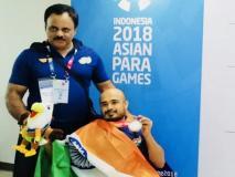 पैरा एशियन गेम्स: भारतीय खिलाड़ियों ने पहले दिन जीते दो सिल्वर और तीन ब्रॉन्ज मेडल