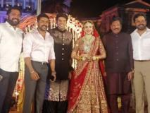 शादी के बंधन में बंधी दिलीप कुमार और सायरा बानो की नातिन सयाशा, साउथ और बॉलीवुड के ये सितारे रहे मौजूद
