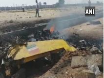 तेलंगानाः एयरफोर्स का ट्रेनी एयरक्राफ्ट क्रैश, पायलट को आई गंभीर चोटें