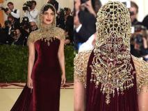 Met Gala 2018: रेड कार्पेट पर प्रियंका ने पहनी ऐसी ड्रेस जिसे बनाने में लग गए 250 घंटे