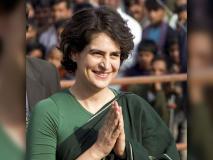 लोकसभा चुनाव 2019 में प्रियंका गांधी ने किया जीत का दावा, BJP समर्थकों का रोड शो में हंगामा