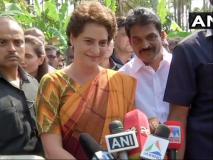 प्रियंका गांधी ने कहा- 'कांग्रेस अध्यक्ष राहुल गांधी कहें तो मैं वाराणसी से चुनाव लड़ने को तैयार'
