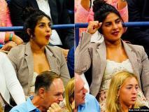 प्रियंका चोपड़ा US Open में हुए मैच में सेरेना विलियम्स को चीयर करती आईं नजर, ये रहीं तस्वीरें