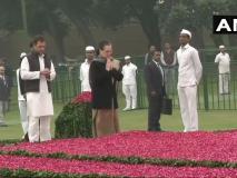 इंदिरा गांधी की 101वीं जयंती पर PM मोदी, सोनिया गांधी और राहुल गांधी ने दी श्रद्धांजलि