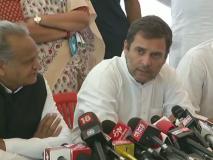 अलवर गैंगरेप: राहुल गांधी पीड़ित परिवार से मिले, कहा- मेरे लिए ये राजनीतिक नहीं भावनात्मक मुद्दा, मिलेगा न्याय