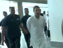 अनुच्छेद 370: विपक्षी नेताओं के साथ कश्मीर पहुंचे राहुल गांधी को एयरपोर्ट से लौटाया गया, पत्रकारों से धक्का-मुक्की और मारपीट