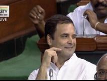 BJP प्रवक्ता ने कहा-राहुल गांधी ने सदन में 'लोफर' की तरह आंख मारी