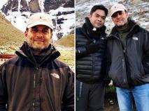 डेनिम जैकेट संग टोपी, मानसरोवर यात्रा पर राहुल का दिखा अलग अंदाज, देखें वायरल हुई तस्वीरें और वीडियो