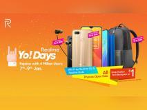 Realme Yo! Days sale में सिर्फ 1 रुपये में मिल रहा बैगपैक और फ्री इयरबड्स