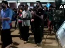 सबरीमाला विवाद: BJP-RSS के कार्यकर्ताओं ने CM विजयन के आवास के बाहर किया प्रदर्शन