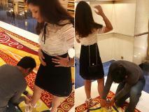 धोनी ने शॉपिंग के दौरान की साक्षी को नई सैंडल पहनने में मदद, हुई जमकर तारीफ, वायरल हुईं तस्वीरें