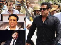 सलमान खान के अलावा इन बॉलीवुड स्टार्स पर हो चुके हैं केस दर्ज, देखें तस्वीरें