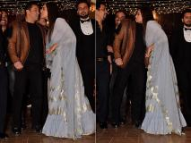 सलमान खान और सोनाक्षी सिन्हा का डैशिंग लुक वेडिंग रिसेप्शन के दौरान आया नजर, देखें तस्वीरें