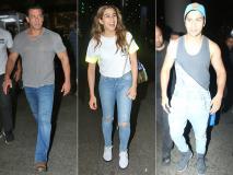 Photos: सलमान खान, सारा अली खान, वरुण धवन समेत इन स्टार्स का दिखा एयरपोर्ट लुक