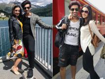 Pics: सनाया ईरानी और मोहित सहगल ने कहा हेल्लो फ्रेंड्स, स्विट्जरलैंड में आके 'चाय पी लो'