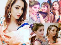 तस्वीरें: सपना चौधरी के भाई की शादी में अर्शी खान समेत इन सितारों ने की जमकर मस्ती