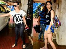 तस्वीरें: मलाइका अरोड़ा खान और सारा अली खान जिम के बाहर बांद्रा में हुईं स्पॉट