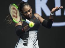 फ्रेंच ओपन 2018: शारापोवा के खिलाफ मैच से पहले सेरेना विलियम्स ने नाम वापस लिया