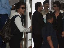 Isha-Anand's Pre-Wedding Bash: शाहरुख खान, आमिर खान हुए एयरपोर्ट पर स्पॉट, देखें तस्वीरें