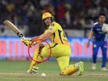 IPL: फाइनल में शेन वॉटसन ने घुटने से खून निकलने के बाद भी की बैटिंग, मैच के बाद लगे 6 टांके