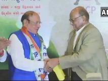 गुजरात के पूर्व सीएम शंकरसिंह वाघेला NCP में शामिल, शरद पवार भी मंच पर मौजूद