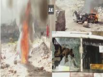 राजस्थान चुनावः पोलिंग बूथ पर BJP और कांग्रेस के समर्थकों ने जमकर मचाया उत्पात, बाइक को किया आग के हवाले