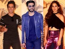 Pics: रणवीर सिंह और सारा अली खान का 'सिम्बा' ट्रेलर लॉन्च के दौरान लुक देख हैरान रह फैंस