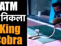 तमिलनाडु में एक एटीएम से निकला किंग कोबरा सांप, घंटों की मशक्कत के बाद ऐसे निकाला बाहर