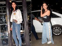 अनन्या पांडे और सोनल चौहान मुंबई के जुहू में पार्टी सेशन के बाद बोल्ड अवतार में आईं नजर
