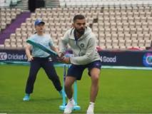 World Cup: विराट कोहली ने साउथैप्टन में स्कूली बच्चों के साथ खेला क्रिकेट, लगाए चौके-छक्के