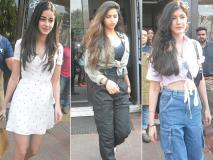 Photos: सुहाना खान, अनन्या पांडे और शनाया कपूर इस अंदाज़ में हुईं बांद्रा में स्पॉट