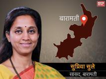 महाराष्ट्र: बारामती लोकसभा सीट पर 28 वर्षों से पवार परिवार का कब्जा, तीसरी बार सुप्रिया सुले मैदान में