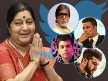 Sushma Swaraj Death: अमिताभ-अक्षय समेत इन बॉलीवुड हस्तियों ने सुषमा स्वराज को दी श्रद्धांजलि