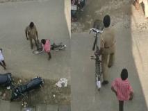 ट्रैफिक पुलिस ने साइकिल वाले का भी काटा चालान, जानें वायरल वीडियो के पीछे की सच्चाई
