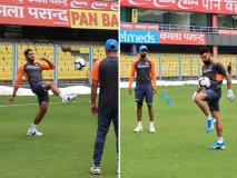 Ind vs WI: टीम इंडिया ने वनडे सीरीज से पहले गुवाहाटी में की प्रैक्टिस, फुटबॉल खेलते नजर आए विराट कोहली